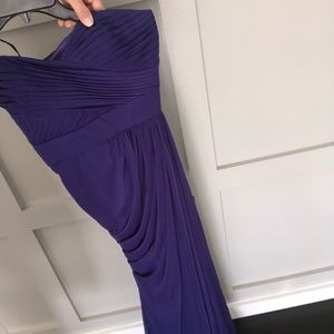 Adrianna Papell draped Evening Gown